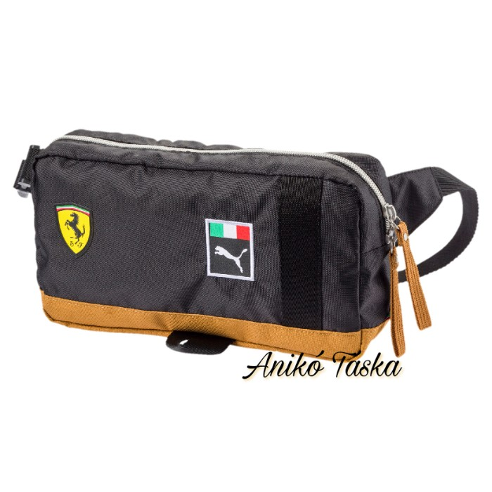 Ferrari övtáska fekete barna Puma