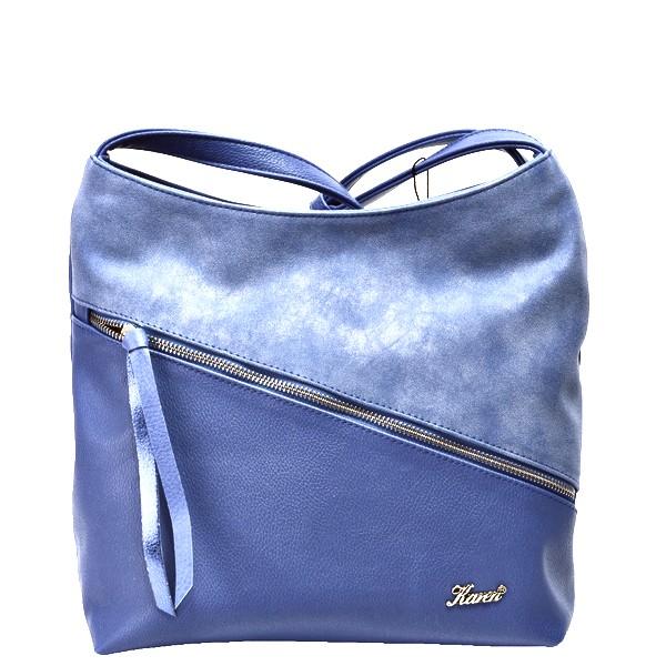 Karen női oldal táska ferde cipzáras