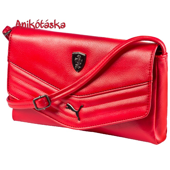 Ferrari női táska piros boríték táska Puma ab4faffbf0