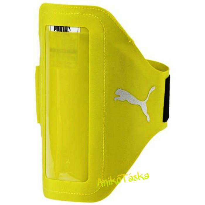 Telefon tok karra futáshoz neon sárga