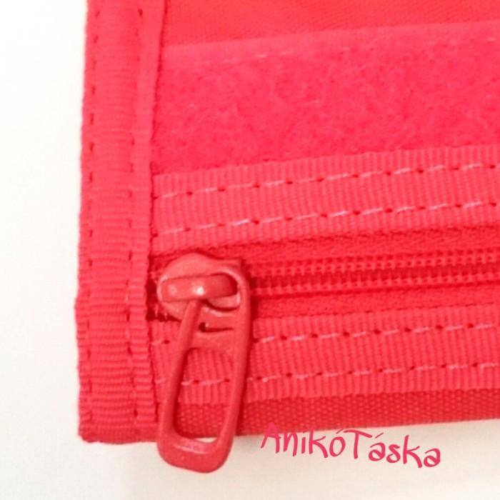 Nike tépőzáras sportos pénztárca rózsaszín