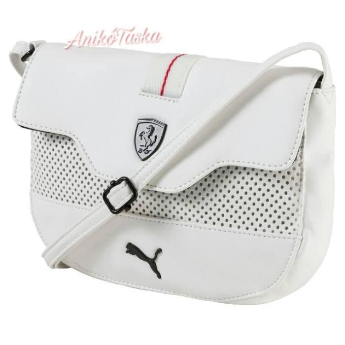 Ferrari 17 fehér íves boríték táska Puma 97d4aa4de4