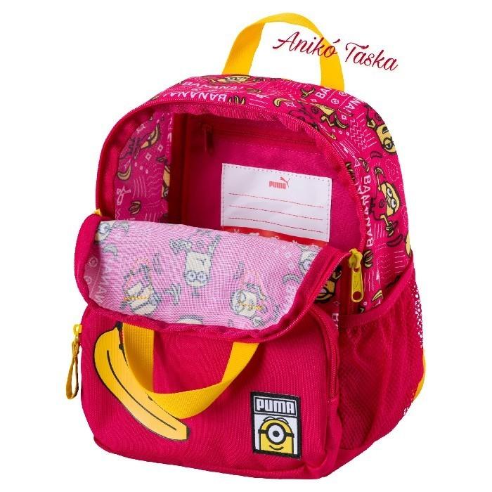 Minion táska gyerek hátizsák rózsaszín Puma