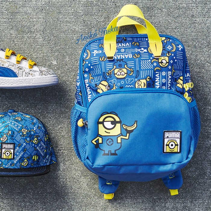 Minion táska gyerek hátizsák kék Puma