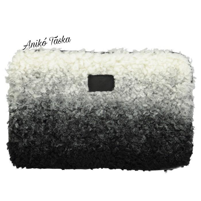 Barts Yak szőr kis táska fekete - fehér