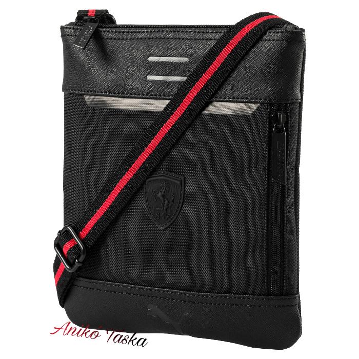 Ferrari lapos oldal táska fekete Puma