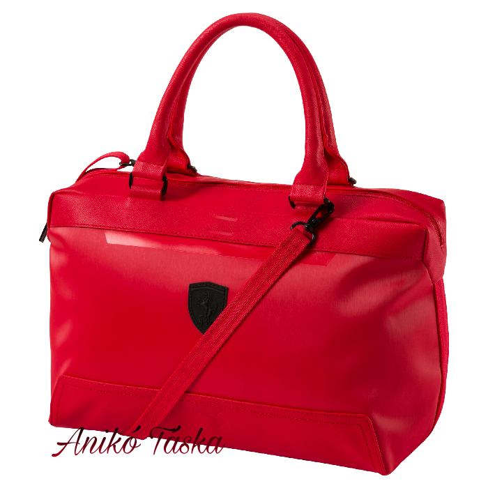 Puma Ferrari női táska piros bowling