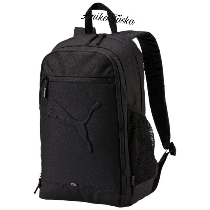 Puma hátizsák domború mintás fekete