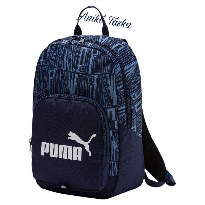 Gyerek háti táska kék Puma