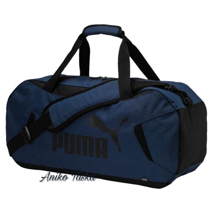 Puma edző táska vízhatlan farmerkék