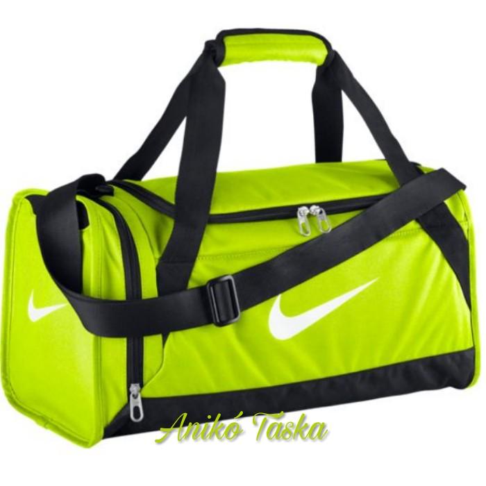 ea4cb6b1f6 Nike kis méretű sport táska neon sárga