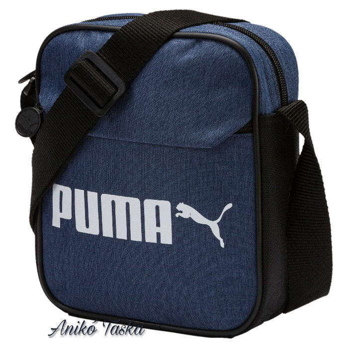 Puma kis oldaltáska farmer színű