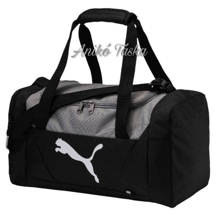 Puma S edzős táska fekete