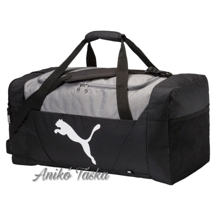 Puma L nagy sporttáska fekete
