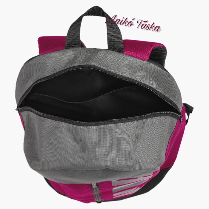 Puma hátizsák függőleges cipzáras pink