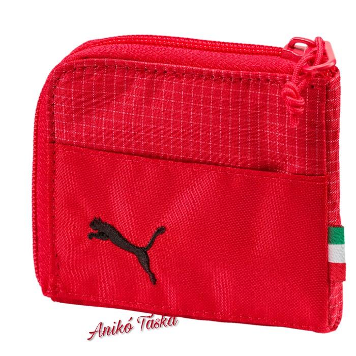 Ferrari cipzáras kis pénztárca piros Puma18