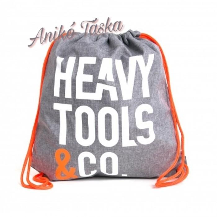 HeavyTools tornazsák szürke