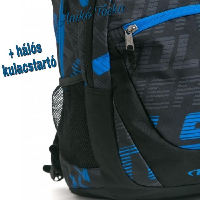 HeavyTools hátitáska kék mintás Ewert