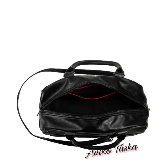 Ferrari női kézitáska fényes fekete Puma18