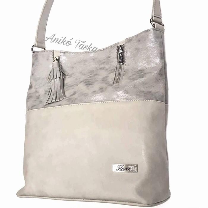 654e53524cdd Karen rostbőr női táska ezüst