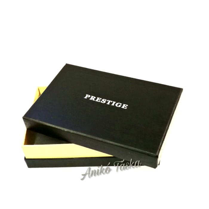 Fedeles bőr női pénztárca Prestige világosszürke