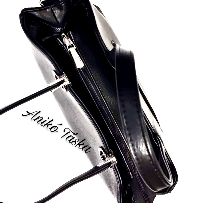 Karen szögletes női kézi táska fekete