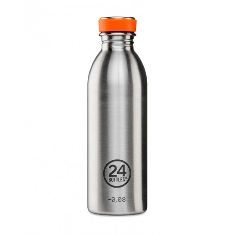 24Bottles Urban BASIC kulacs Steel