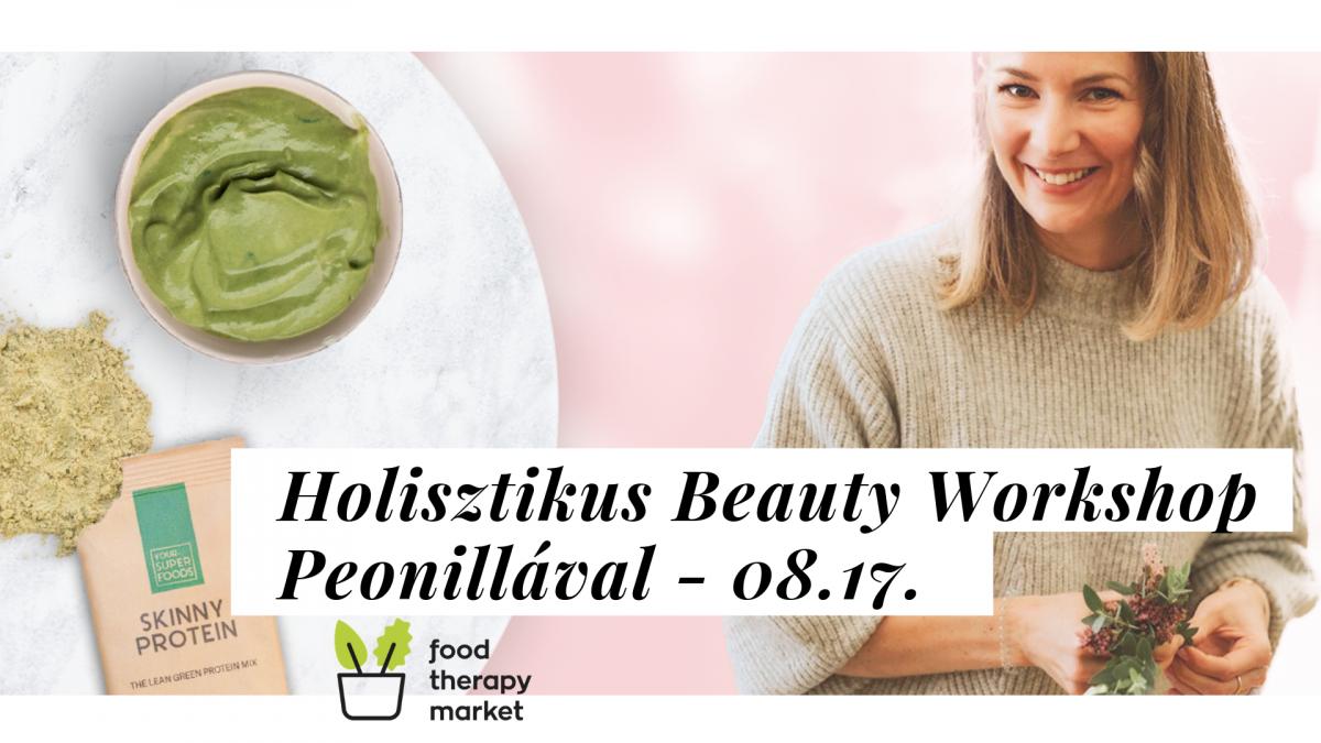 Holisztikus Beauty Workshop Peonillával - páros jegy
