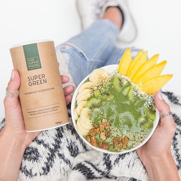 Organic Super Green Mix 10x5g