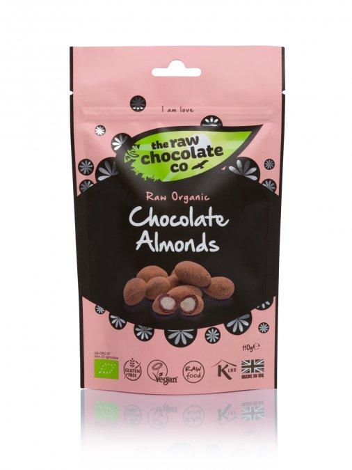 Nyers csokoládés csemege - Mandula 125g