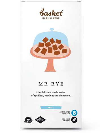 Mr. Rye - fahéjas, mogyorós lapocskák 100g