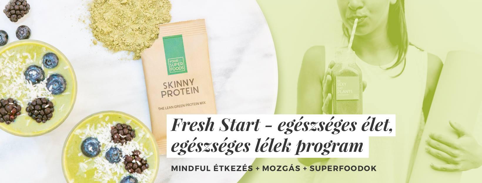 Fresh Start - egészséges élet, egészséges lélek program - Alap