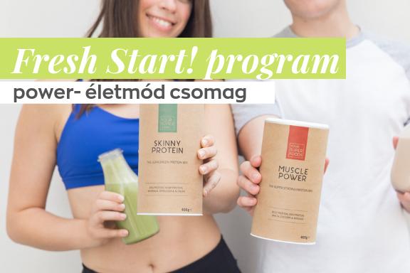 Fresh Start - egészséges élet, egészséges lélek program - Power
