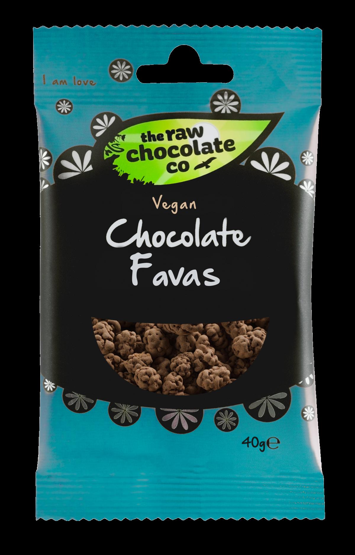 Nyers csokoládés csemege - Fava bab 40g