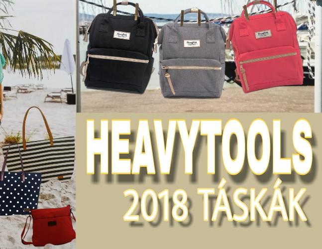 HeavyTools 2018 táskák