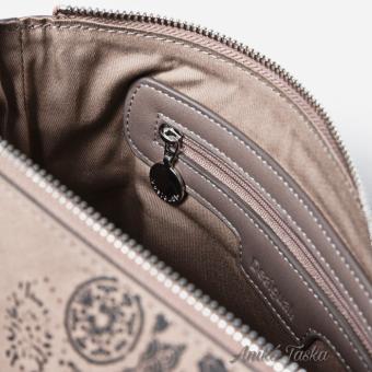 Desigual két színű női táska mandala mintás