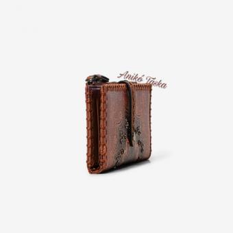 Desigual hosszú pénztárca sok kártyatartós barna