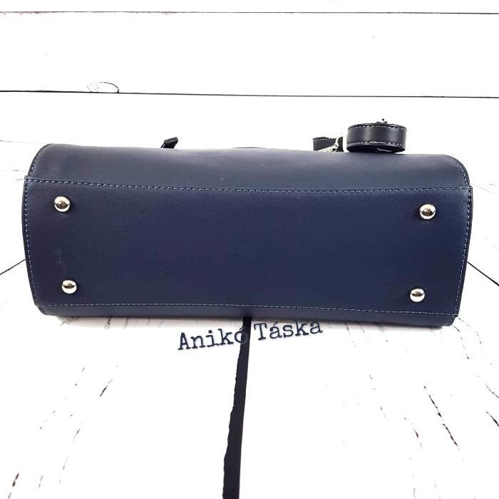David Jones női táska nagy laptoptartós széles kék