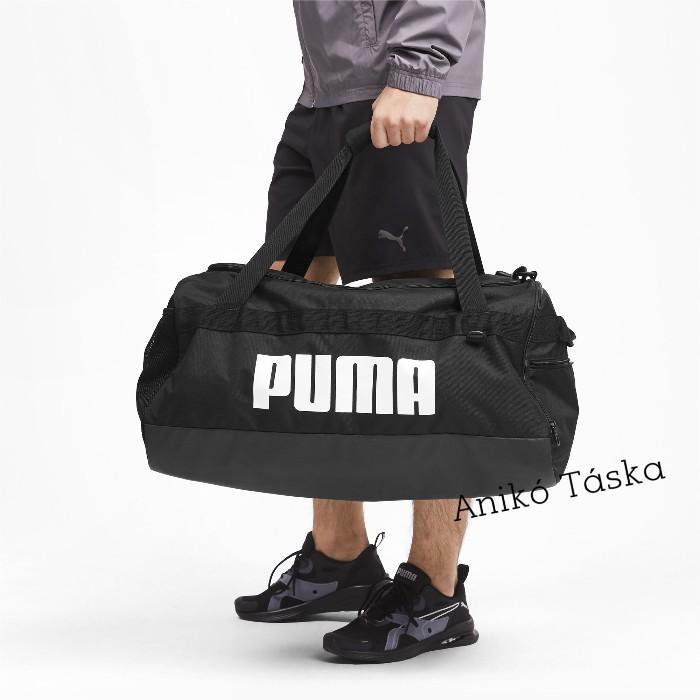 Puma közepes egyszerű sporttáska hevederes terep színű