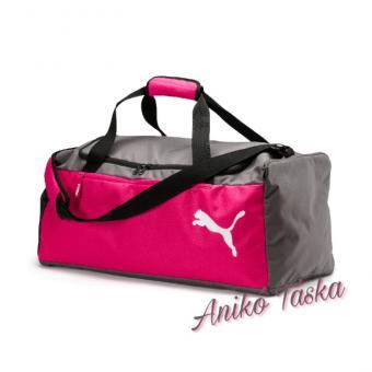 Puma XS egyszerű sporttáska rózsaszín szürke