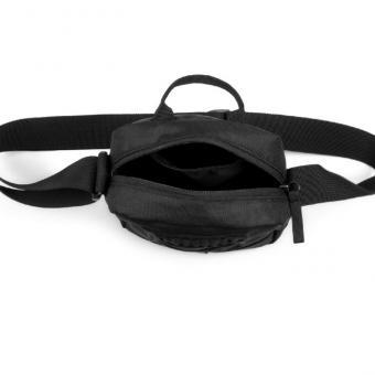 Puma válltáska négyzetes domború mintával fekete