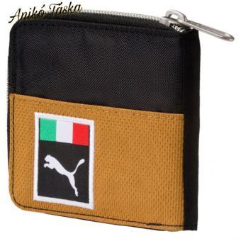 Ferrari cipzáras kis pénztárca barna fekete Puma