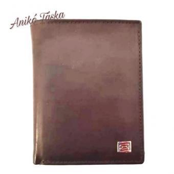 Kadro álló fazonú bőr férfi pénztárca barna