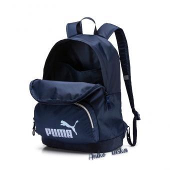 Puma retró hátizsák könnyű sötétkék