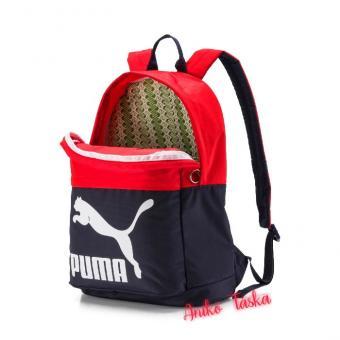 Puma hátizsák eredeti stílus sötétkék piros
